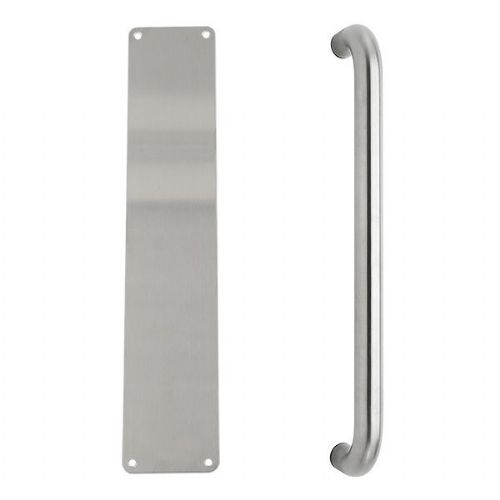 Pull handle & push plate set